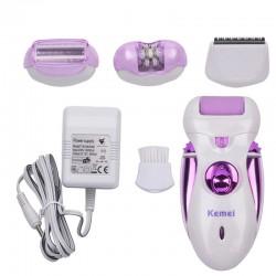 Depiladora eléctrica recargable 4 en 1 - afeitadora - recortadora
