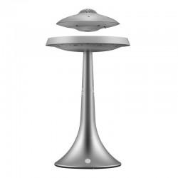 UFO - lewitacja magnetyczna - bezprzewodowy głośnik stereo Bluetooth - modna lampka
