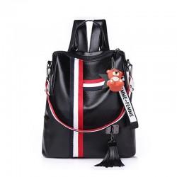 Modny retro plecak & torebka z frędzlami