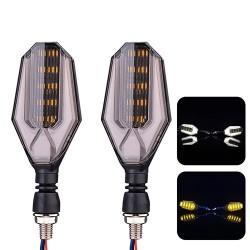 Indicatori di direzione a LED per moto 12V - indicatori super luminosi 2 pezzi