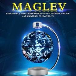Lewitacja magnetyczna - elektroniczny pływający globus z LED