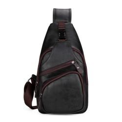 Modna torba na ramię POLO - skórzany plecak