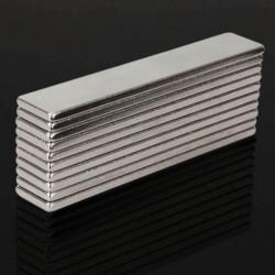 N48 aimant super puissant en néodyme 50 * 10 * 2mm - bloc 10 pièces