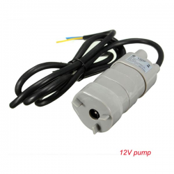 12V-24V DC 1.2A 5M 600L / u dompelpomp waterpomp