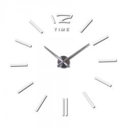 Duży dekoracyjny zegar ścienny DIY