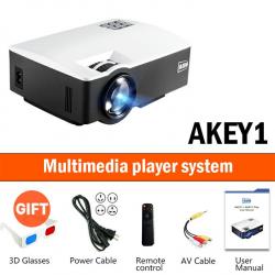 LED 1800L - wsparcie full HD - mini projektor