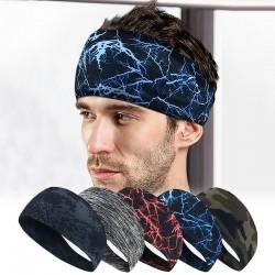 Sportowa & do fitnessu opaska na głowę - unisex