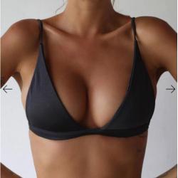 2017 nuevos Bikinis sexis traje de bao de cintura alta trajes de bao Bikini Push Up Conjunto de su