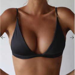 Sexy biustonosz bikini z push up