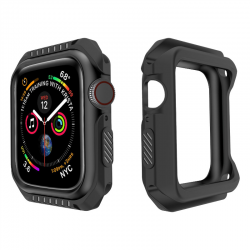Custodia in silicone e armatura dura per Apple Watch 1-2-3-4-5