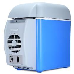 12V 75L mini - przenośna chłodziarka podwójnego zastosowania - wielofunkcyjna lodówka samochodowa