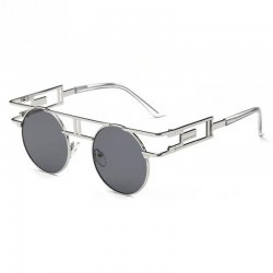 Fashion gothic steampunk unisex sunglasses