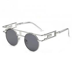 Modne gothic steampunkowe okulary unisex