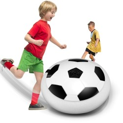 Piłka nożna z migającym światłem LED - zabawka