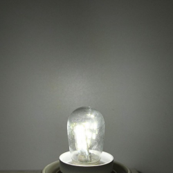 LED Gloeilamp E12 2 w E12 LED Hoge Heldere Glazen Kap Lamp Pure Warm Wit Verlichting Voor Naaimachin
