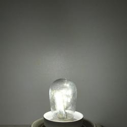 Lumire LED ampoule E12 2 W E12 LED haute luminosit verre abat-jour lampe Pure blanc chaud clairag
