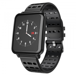 Q8 Smartwatch IP67 Waterdichte Wearable Apparaat Bluetooth Stappenteller Hartslagmeter Kleur Display