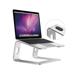Portable aluminum laptop stand with cooling