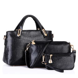 3 sets women handbag shoulder bags
