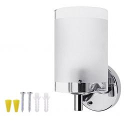 AC85-265V E27 Led nowoczesna szklana lampa ścienna