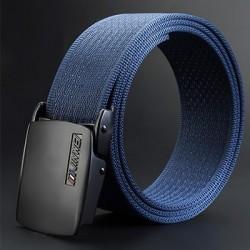 Cintura regolabile in nylon con fibbia automatica