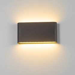 Làmpara impermeable de pared para interiores y exteriores6W - 12W LED IP65