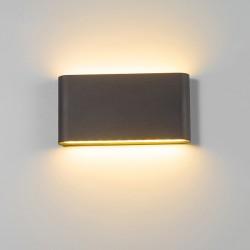 LED 6W - 12W - wodoodporny kinkiet IP65 - lampa ścienna
