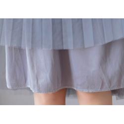 Modna plisowana spódnica midi