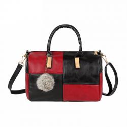 Mała torebka na ramię & crossbody z pomponem