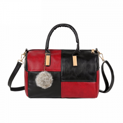 Small shoulder & crossbody bag with tassel