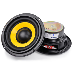 4 inch woofer audio speakers 4 ohm / 8 ohm 20W 2 pcs