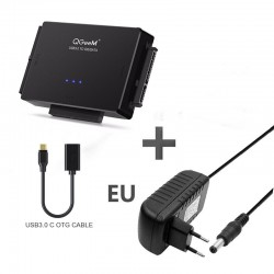 Adapter SATA na USB IDE - USB 3.0 - Konwerter HDD dysku twardego Sata 2.5 3.5