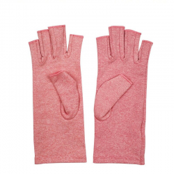 Therapy compression - pain relief - fingerless cotton gloves
