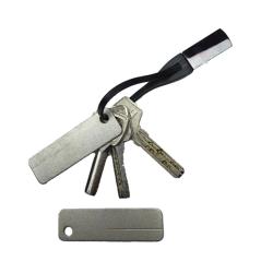 Diamond stone sharpener - keychain - camping tool