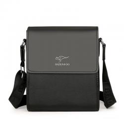 Skórzana torba na ramię & crossbody - zestaw
