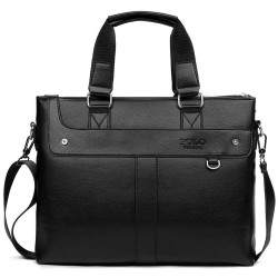 Polo - classic leather wide bag