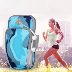 Brazalete deportivo universal - bolsa con cremallera
