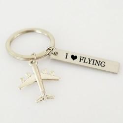 Amo volar - llavero