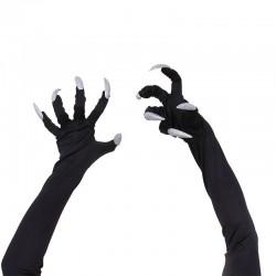 Rękawiczki na Halloween z długimi paznokciami