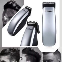 Kemei elektrische Mini-Haarschneidemaschine Trimmer Bart
