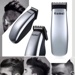Kemei nuevo diseo cortapelos elctrico Mini Hair Trimmer barba afeitar del peluquero para Hombres e