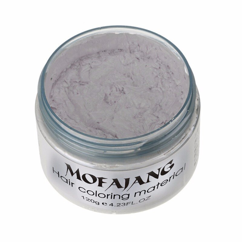 Hair color wax - one time hair styling - modeling paste