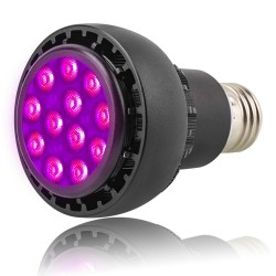 E27 36W LED grow light lamp - hydroponic - full spectrum