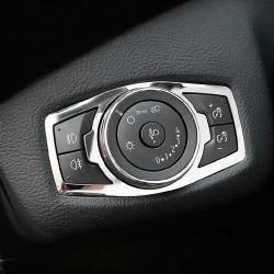 Pokrywa włącznika reflektorów ze stali nierdzewnej dla Ford Focus 3 MK3/4 Kuga Escape Explorer Mondeo Mustang
