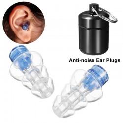 Tappi antirumore - riutilizzabili - con scatola - protezione dell'udito - tappi per feste