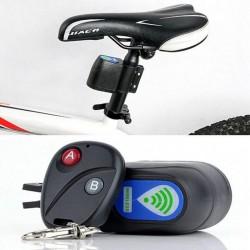 Profesjonalna blokada rowerowa przeciw kradzieży - sterowanie bezprzewodowe - z pilotem