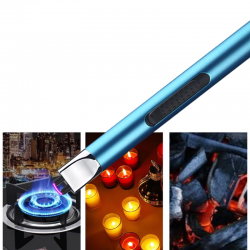 Arc electric lighter - windproof - flameless - USB charging