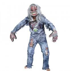 Zombie - kostium na całe ciało na Halloween - komplet
