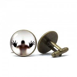 Build-in glass ghost - cufflinks