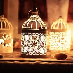 Marokkanische Laterne - hängender Kerzenhalter der Weinlese